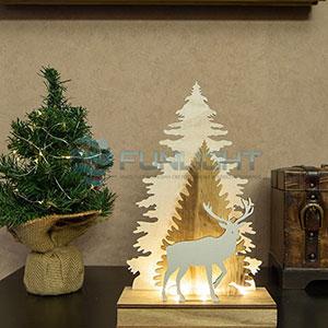Деревянные фигурки новогодние